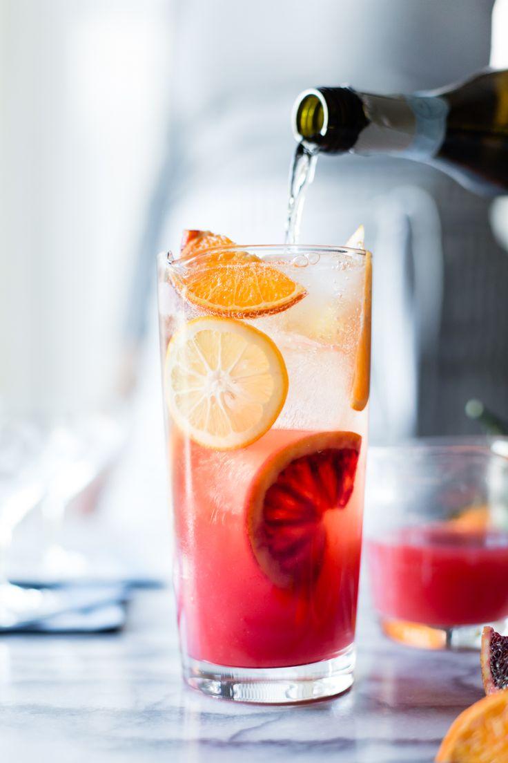 Sparkling Citrus, White Wine & Prosecco Punch
