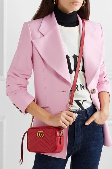 44db14a7cb47 Gucci | GG Marmont Camera mini quilted leather shoulder bag | NET-A-PORTER .COM