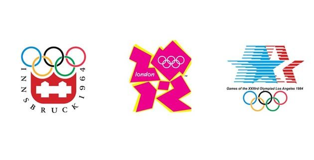 Logos-of-the-Olympic-games-of-the-last-100-years