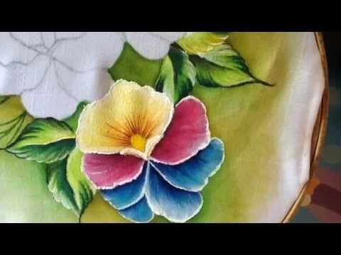 Pintura en tela pensamientos # 2 con cony