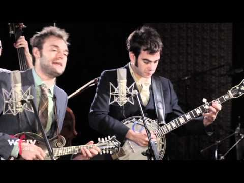 """http://wfuv.org. Punch Brothers perform """"Patchwork Girlfriend"""" live in Studio A. Recorded 2/21/12.    Host: Claudia Marshall  Engineer: Joe Grimaldi  Cameras: Claire Donovan, Erica Talbott, and Patrick Moore  Editor: Erica Talbott"""