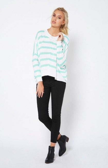 Donna Stripe Knit by SASS