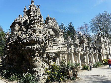 Ardèche-Drôme > Drôme > Hauterives > Palais idéal du Facteur Cheval > Monument