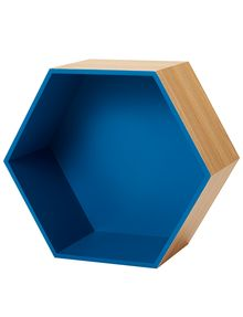 Tilly@home Wall Cube, Blue, Large product photo