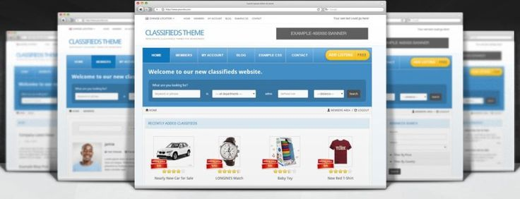 Feature Rich Responsive Classifieds Premium Theme for WordPress