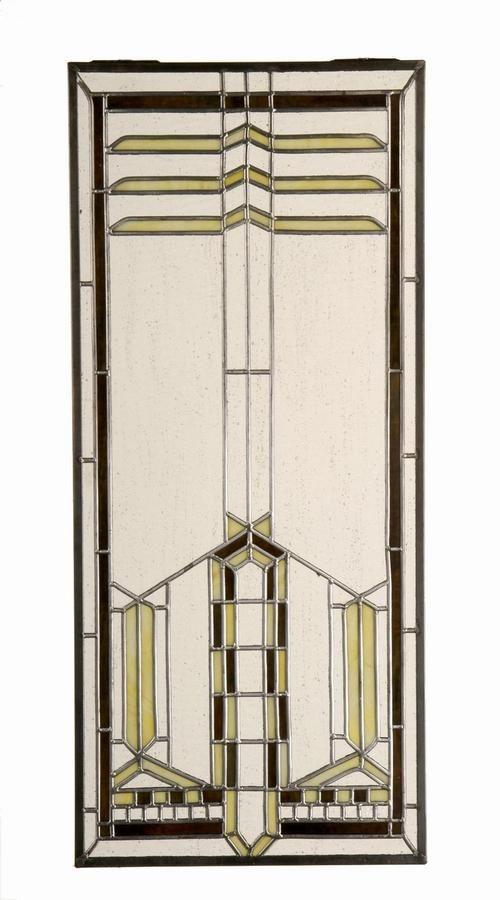 Art Deco glas in lood.
