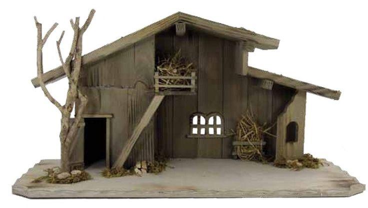 houten kerststal - Google zoeken