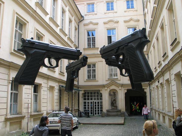 Praga: David Černý