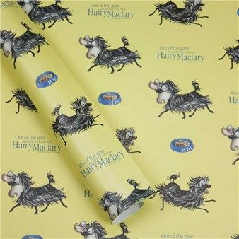 Hairy Maclary Wrapping Paper by Blue Island Press