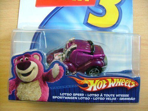Toy Story 3 Hot Wheels Lotso Speed Car by Mattel. $8.45. Disney Pixar Toy Story 3 Hot Wheels Losto Speed Die Cast Vehicle Car. Hot Wheels Lotso Speed Die Cast Vehicle from Disney Pixas Toy Story 3