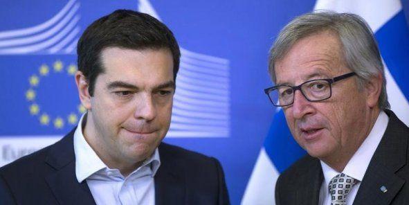 L'Actu du Jour La réunion entre le premier ministre grec Alexis Tsipras et le président de la Commission européenne Jean-Claude Juncker a donc échoué mercredi 3 juin au soir. Jeroen Dijsselbloem, le président de l'Eurogroupe, convoqué pour retranscrire...