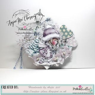 Made by Anjie McChesney for the Digi Choosday blog using Winnie White Christmas USB: http://www.polkadoodles.co.uk/usb-vip-collection-winnie-white-christmas-digital-printables-on-usb-key/No Red or Green