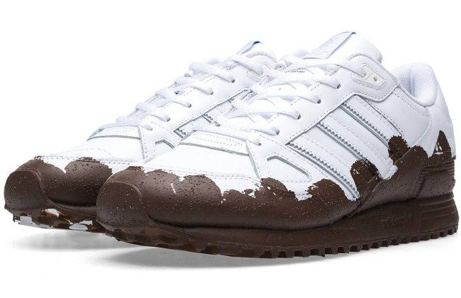 Adidas has covered its new trainers in mud, so you don't have to