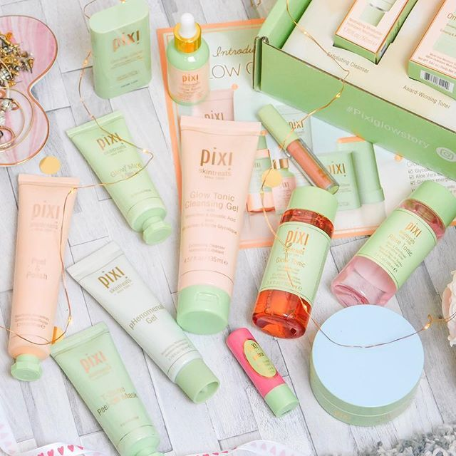 You Can Never Have Too Many Pixi Products Right I Seem To Be Working Up Quite A Collection Here And I Ha Pixi Glow Tonic Pixi Skintreats Skin Care Collection