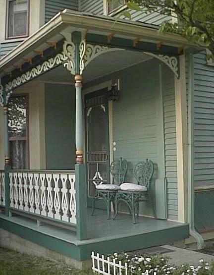 17 best images about porch trim ideas on pinterest for Side porch