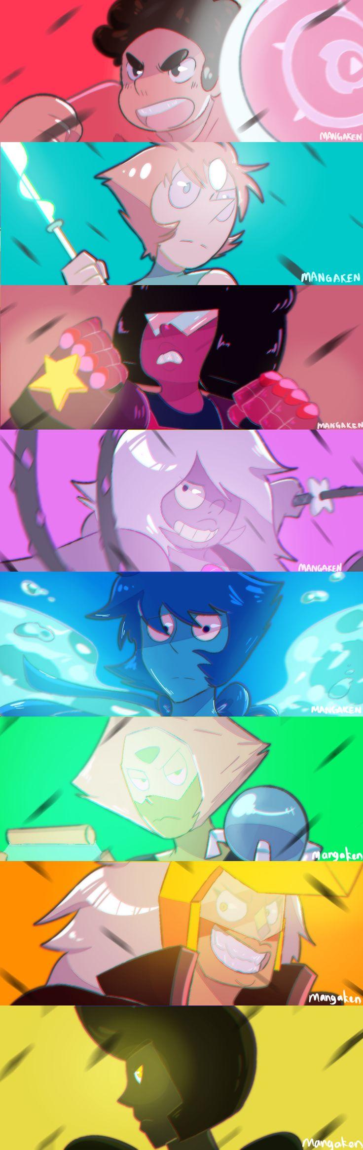 Steven Universe - Gemas