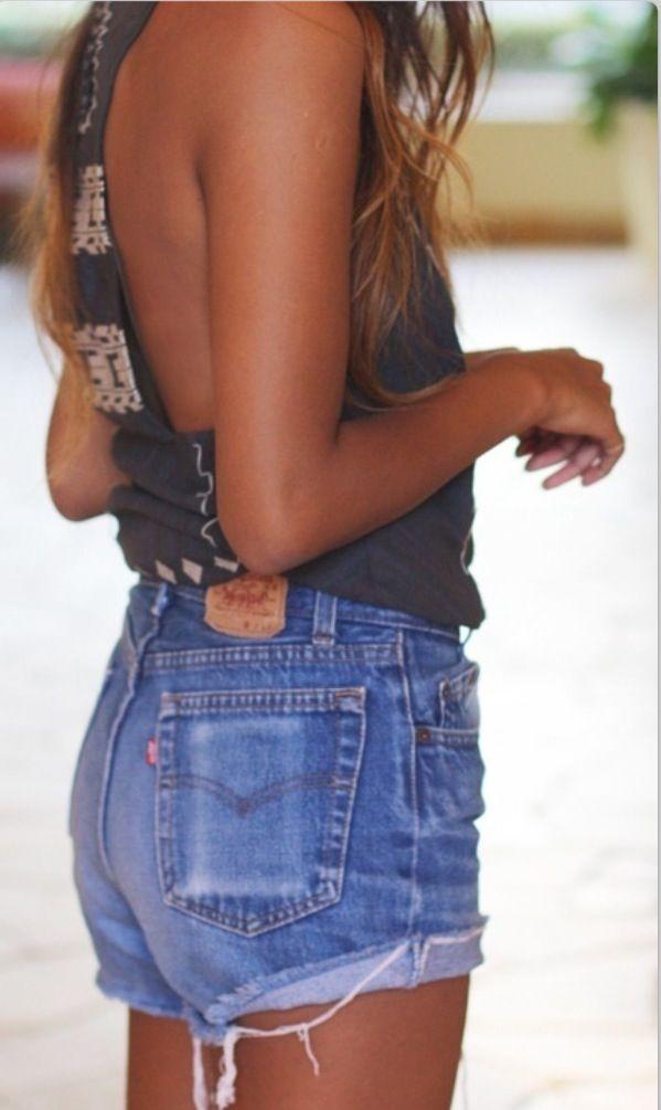 Best 25  Jean shorts tutorial ideas on Pinterest   Cheap denim ...