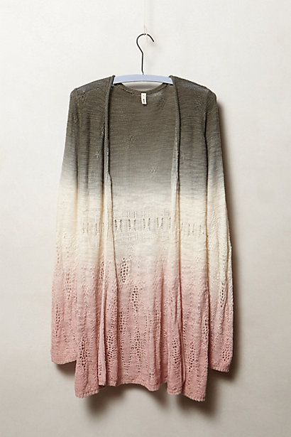 How pretty are the colors in this cardigan.  It would be perfect with a pair of skinny jeans and tall boots