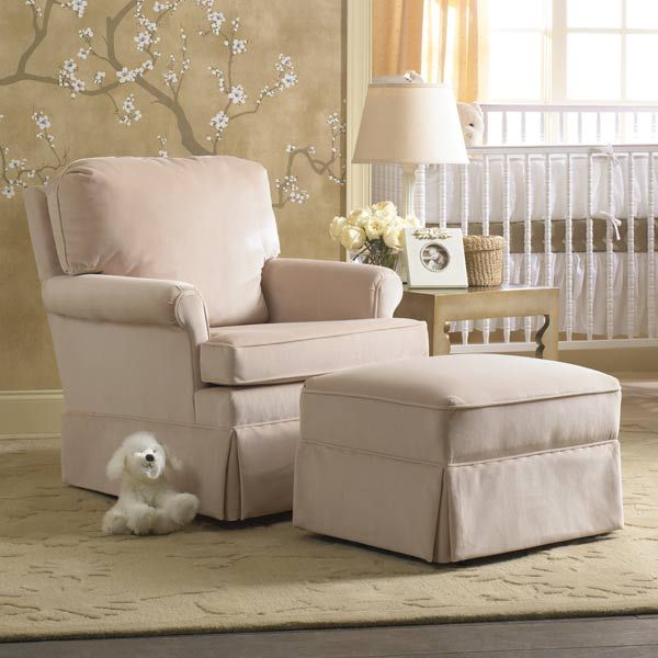 This Nursery Swivel Glider Is Ideal For
