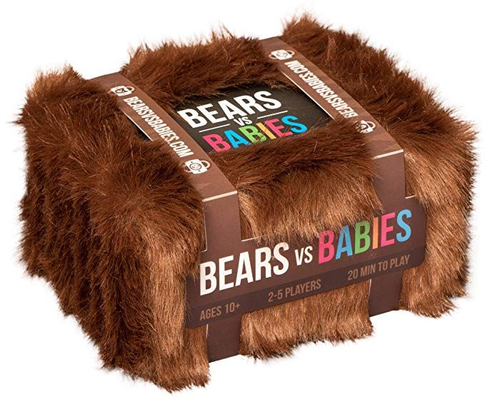 Bears Vs Babies A Card Game From The Creators Of Exploding Kittens Exploding Kittens Card Games Fun Board Games