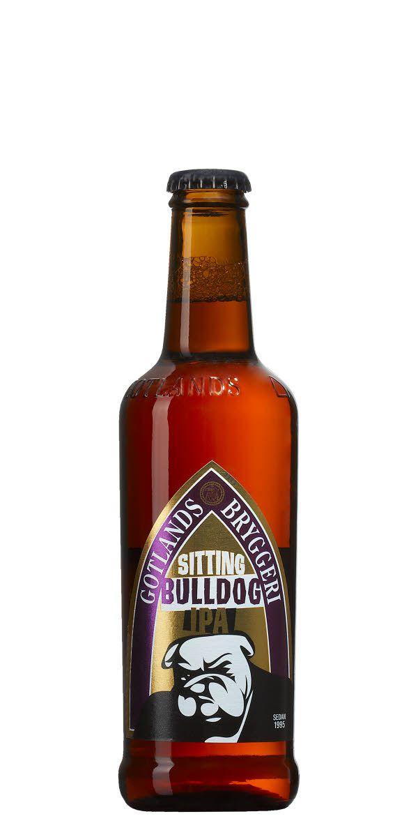 Markerad beska och fyllighet med en uns av honungssöta toner samt lång fruktig eftersmak. Endast humle från USA, därav namnet Sitting Bulldog.
