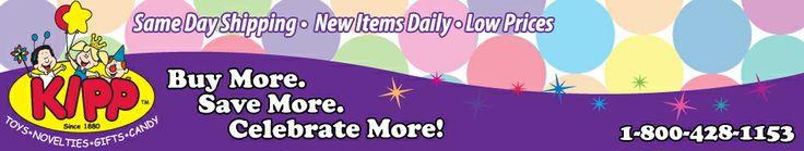 Wholesale Toys, Novelties, Party Supplies, Candy | Kipp Toys