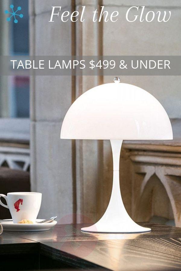 Glowing Table Lamps Lamp Table Lamp Glow Table