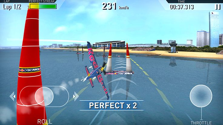 Red Bull Air Race The Game: captura de tela