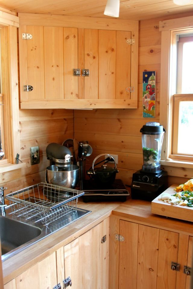 Best 170 Best Tiny House Kitchen Ideas Images On Pinterest 400 x 300