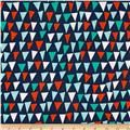 Michael Miller Ahoy Matey Point of Sail Navy - patio chair fabric
