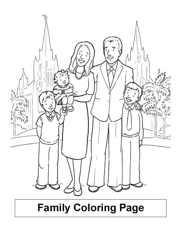 My Family Coloring Pages Family Coloring Pages Family Holiday In