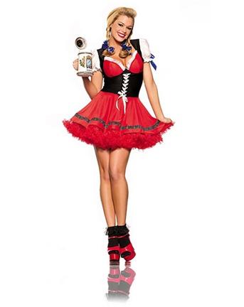 Irish beer girl costume