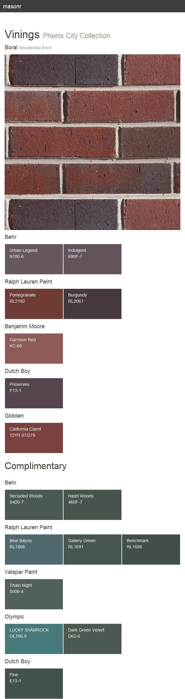 52 best paint colors images on pinterest paint colors paint colours and wall paint colors - Breathable exterior masonry paint collection ...