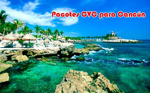 Pacotes para Cancun em 2016 na CVC #pacotes #cancun #viagem #cvc
