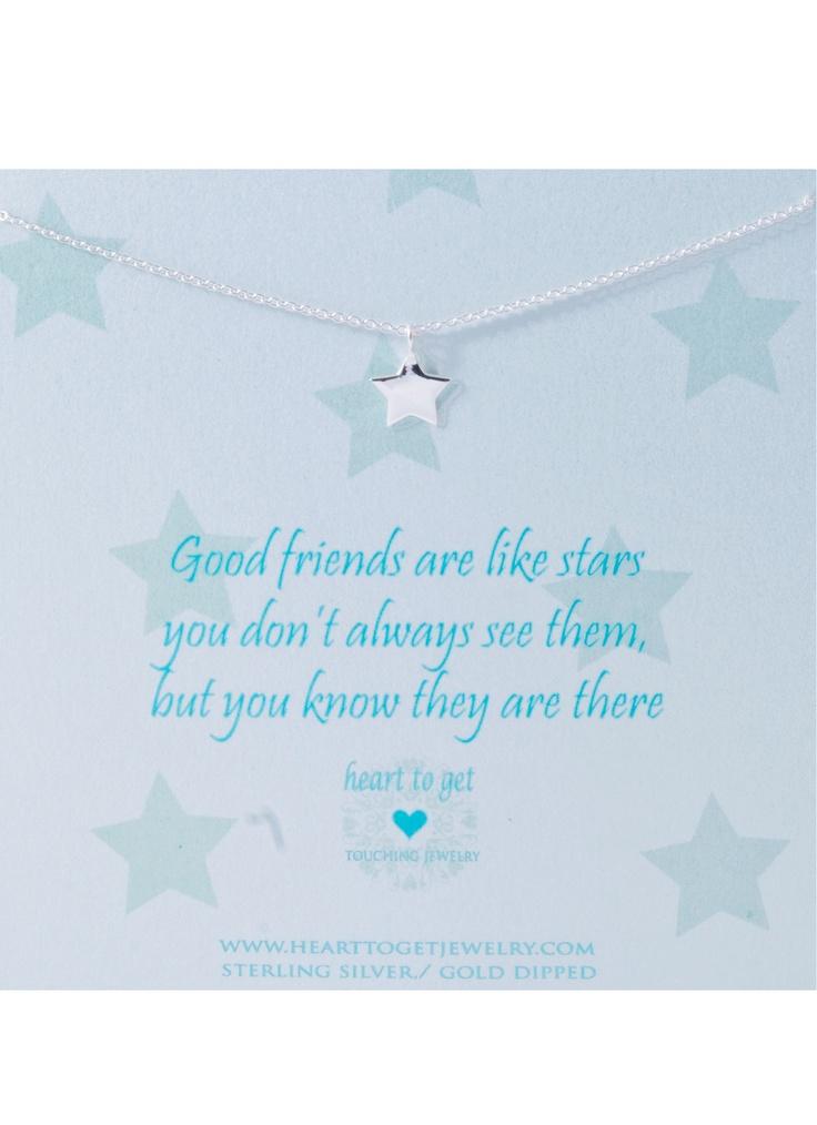 Heart to get Ketting met hanger in de vorm van een ster • de Bijenkorf