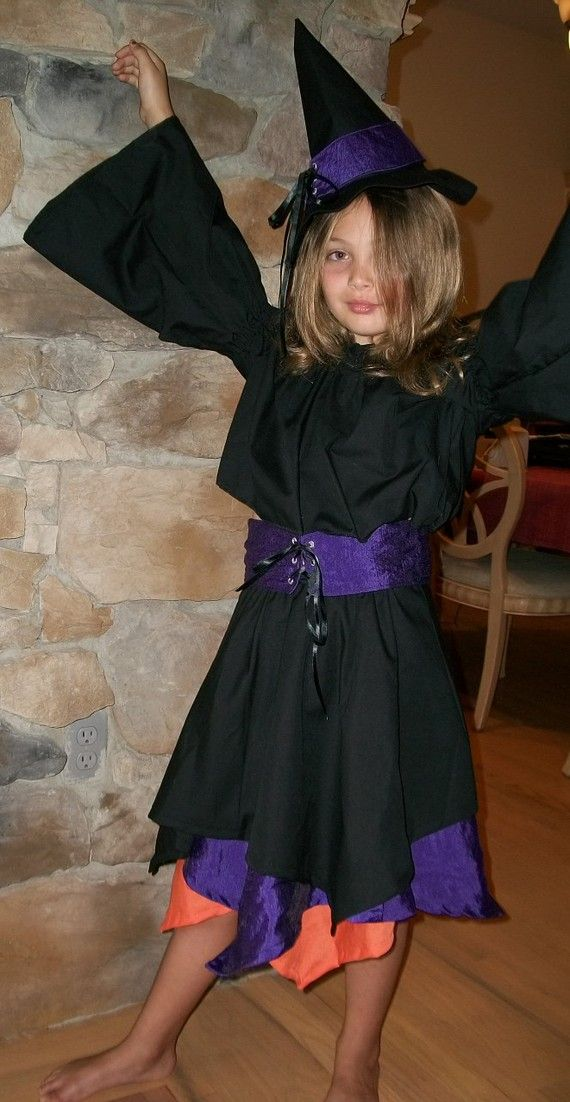 Discontinued Childrens Witch Costume Halloween Pinterest Witch