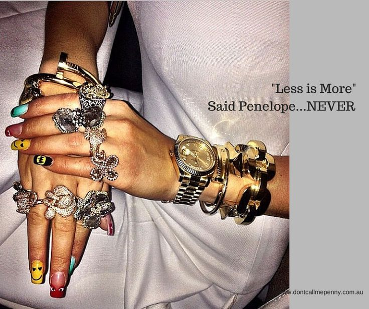 """""""Less is More"""" Said Penelope...NEVER! Rita Ora's hands on the way to the Grammy's (and presumambly the rest of her body) #fashion #jewelry #jewellery #RitaOra"""