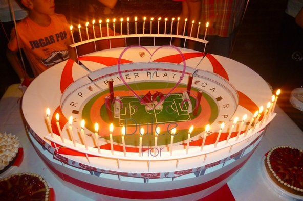 Torta Estadio de River Plate