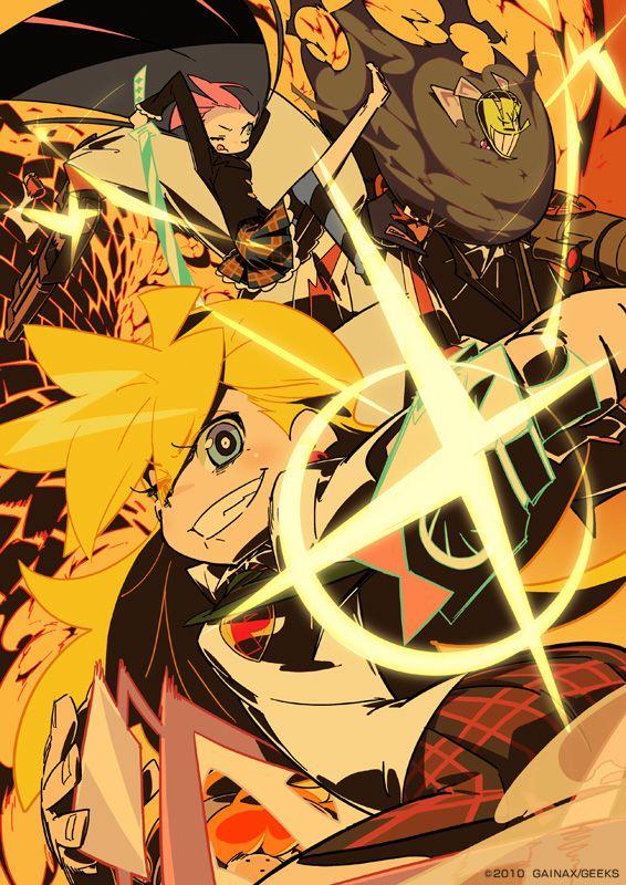 가이낙스 톱페이지 갱신 : 팬티 & 스타킹 with 가터벨트 출처 : http://www.gainax.co.jp/ 일러스트레...
