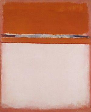 Mark Rothko, Number 18, 1951, olieverf op doek, 207 x 177.5 cm, Museum of Art, Utica, NY