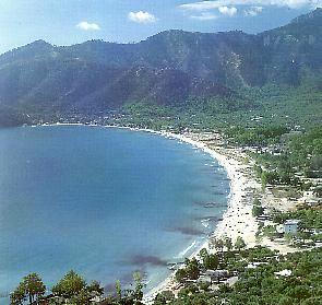 Golden Beach, Island of Thassos, Greece