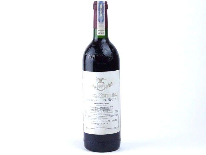 Currently At The Catawiki Auctions 1970 Vega Sicilia Unico Gran Reserva Ribera Del Duero Spain Tempranillo Wine Bottle Malbec