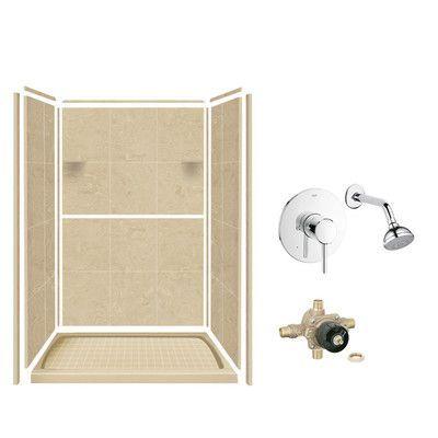 35 best Solid Surface Shower Walls images on Pinterest | Bathroom ...