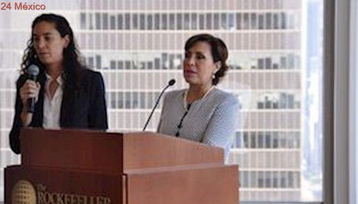 Rosario Robles firma acuerdo con 100 Ciudades Resilientes