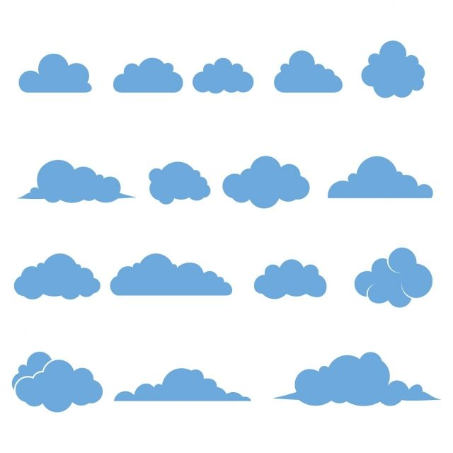 Cloud Vector Icons Isolated Cloud Icons Abstract Air Png And Vector With Transparent Background For Free Download In 2020 Cloud Vector Vector Icons Cloud Icon
