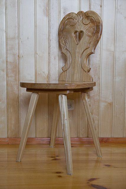 Krzesła i stoły - Stolarstwo Kulka