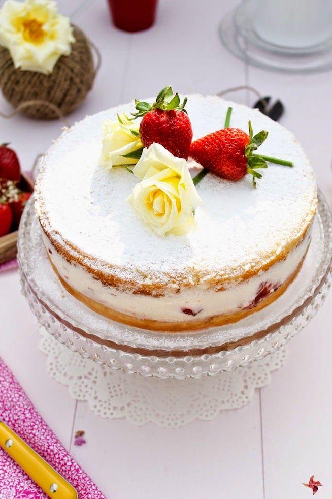 Nude Cake al estilo Victoria