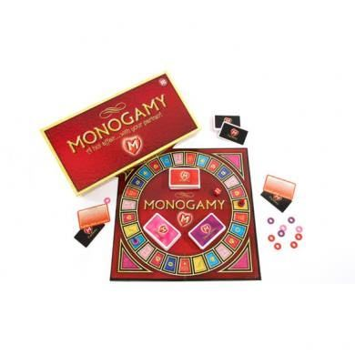 Recent purchase: Monogamy A Hot Affair With Your Partner adult board game. Great addition to foreplay.