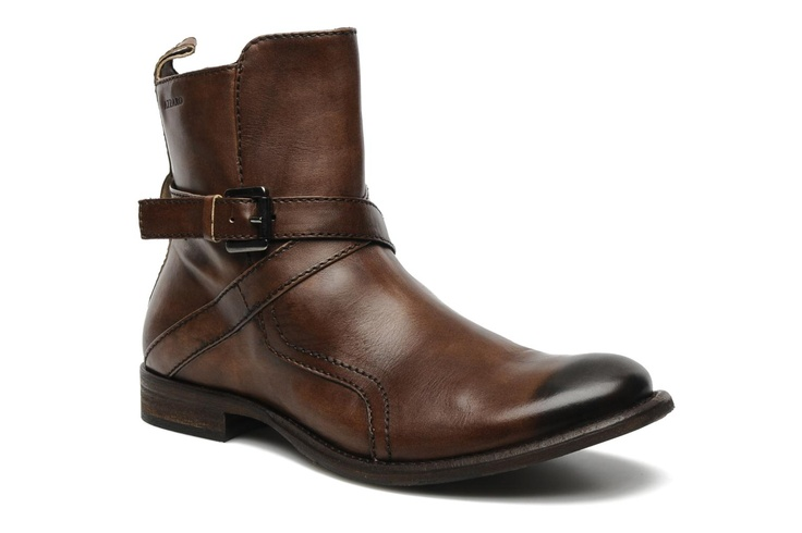 Pradal by Azzaro (Marrón): entrega gratuita de tus Botines Botas marrones para hombre. Brown boots for men. Bottes pour homme.  https://www.facebook.com/bagatelleoficial Bagatelle Marta Esparza #boots #brown #men