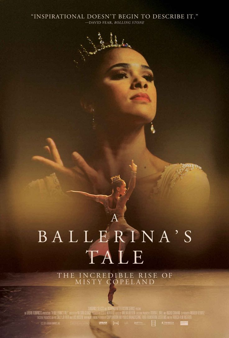 A Ballerina's Tale | Misty Copeland | 18 Great Kids' Movies About the African American Experience